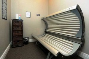 Tanning bed at the Pines at Southridge.